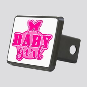Baby Girl Rectangular Hitch Cover