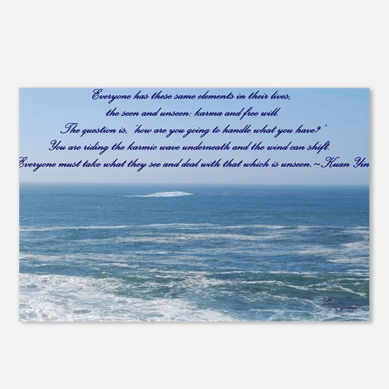 POWER OF THE MOMENT POEM Postcards (Package of 8)