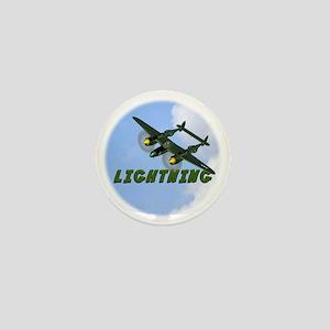 P-38 Lightning Mini Button