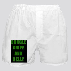 Dangle Snipe and Celly Boxer Shorts