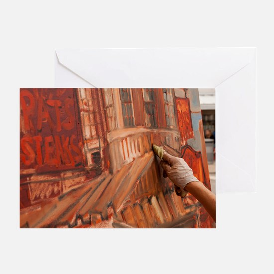 Philadelphia Artist ErinMcGeeFerrell Greeting Card