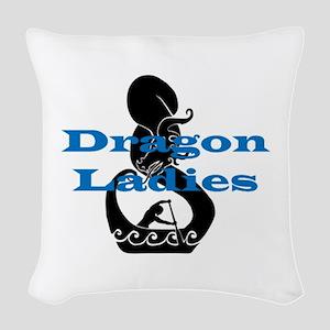 DL2 Woven Throw Pillow
