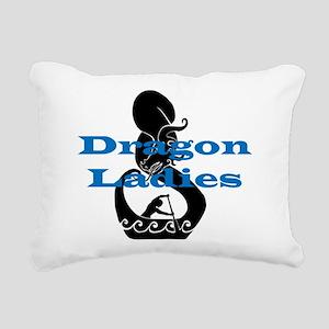 DL2 Rectangular Canvas Pillow