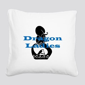 DL2 Square Canvas Pillow