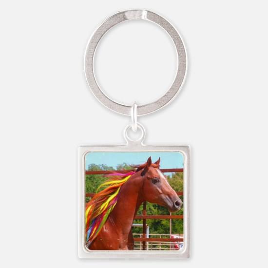 CHUCK TAYLOR STALLION LARGE Square Keychain