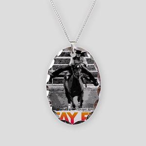 STAY FLY BABYFLO FALLON TAYLOR Necklace Oval Charm