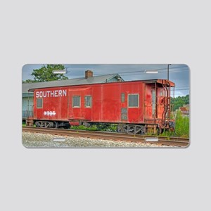 Kernersville Red Caboose Aluminum License Plate
