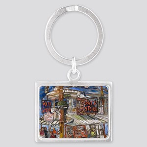 Philadelphia Pats CheeseSteak Landscape Keychain