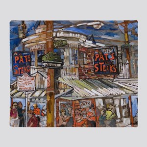Philadelphia Pats CheeseSteak Throw Blanket