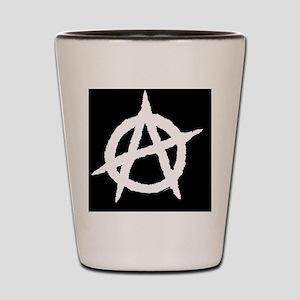 AnaLuggTagLarge-a Shot Glass