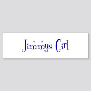 Jimmys Girl Bumper Sticker