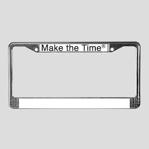 Make the Time License Plate Frame
