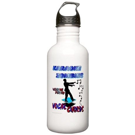 Karaoke Zombies Vocal Stainless Water Bottle 1.0L
