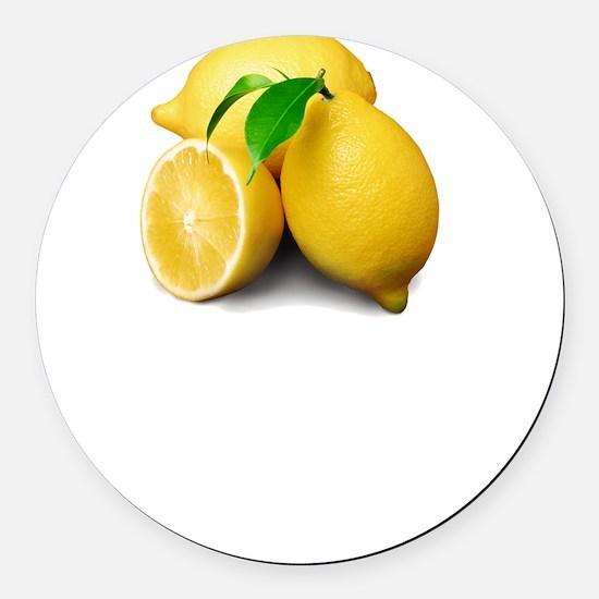 Lemonade Suck Round Car Magnet