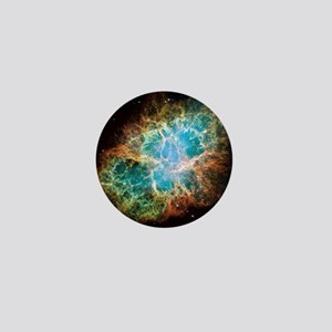 Crab Nebula Mini Button
