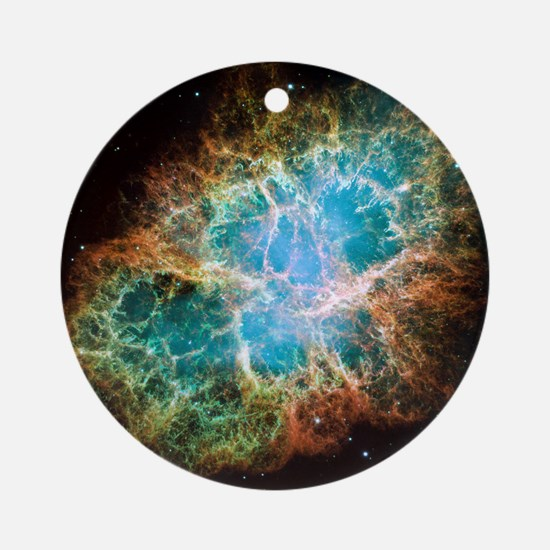 Crab Nebula Round Ornament