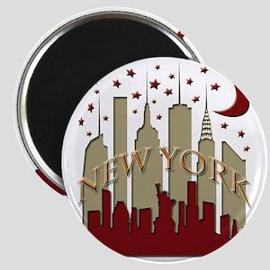 New York City Skyline hot Magnet