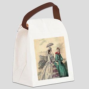 Victorian Women Canvas Lunch Bag