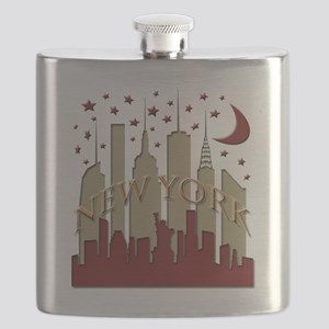 New York City Skyline hot Flask