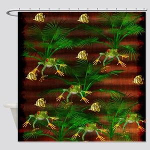 Toads and Fishes Shower Curtain