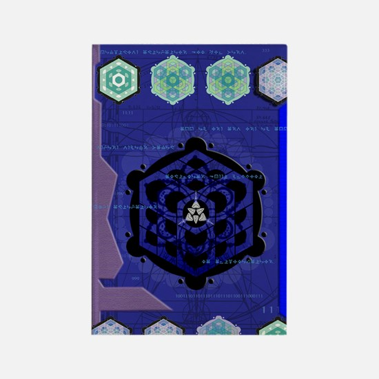 Starseed Journal Rectangle Magnet