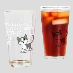 catnip Drinking Glass