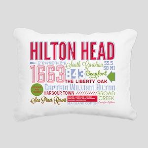 Hilton Head Rectangular Canvas Pillow