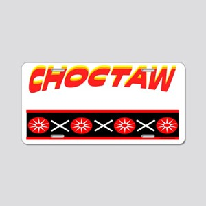 CHOCTAW Aluminum License Plate