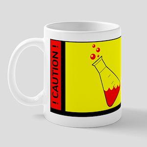 Caution - Chemist at work Mug