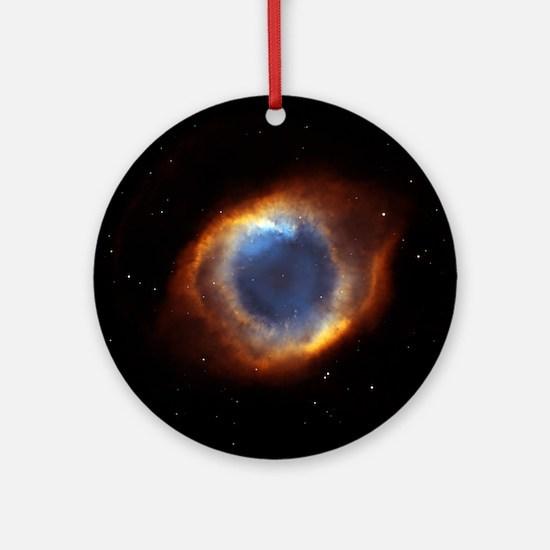 Helix Nebula Round Ornament
