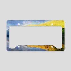 Early Morning at Tarbet, Loch License Plate Holder