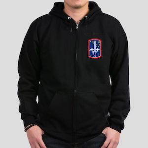 SSI - 172nd Infantry Brigade wit Zip Hoodie (dark)