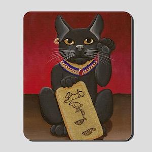 Maneki Neko Bast Mousepad