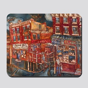 Philadelphia Claudio and DiBruno Houses  Mousepad