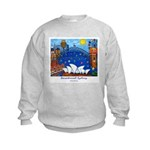 Original Sydney Painting on Kids Sweatshirt