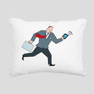 OfficeWork_0174 Rectangular Canvas Pillow