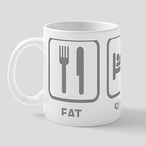 eatSleepRow1C Mug