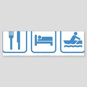 eatSleepRow1D Sticker (Bumper)