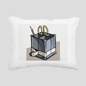 OfficeWork_0417 Rectangular Canvas Pillow