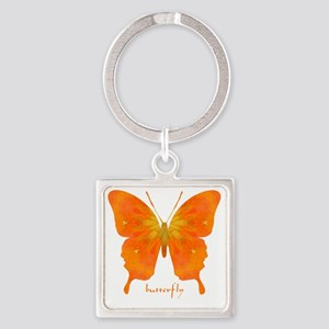 Rapture Butterfly Square Keychain