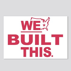 We Built This Postcards (Package of 8)