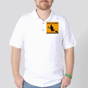 Halloween Witch Golf Shirt