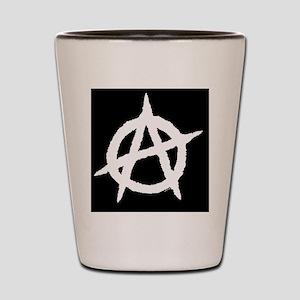 Anarchyiphone3ghardcaseitouch24 Shot Glass