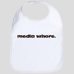 Media Whore Bib