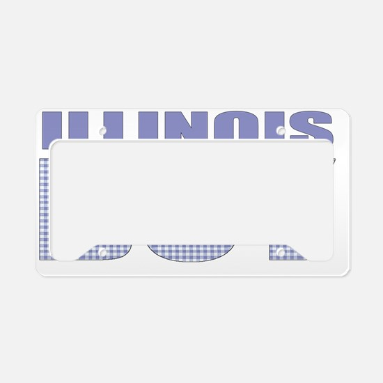 Illinois - more states License Plate Holder