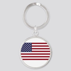 If this offends you... Round Keychain