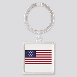 If this offends you... Square Keychain