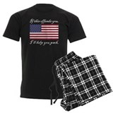 Patriotic Men's Dark Pajamas