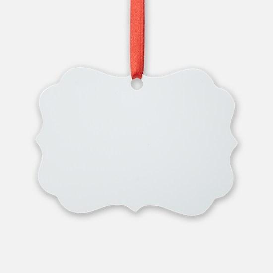 Aikido sword white w/text Ornament