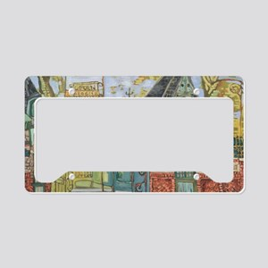 Philadelphia Zoo Entrance Oct License Plate Holder
